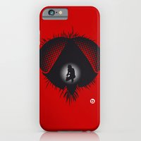 iPhone & iPod Case featuring The Fly (Red Collection) by Alain Bossuyt