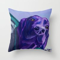 Where Are We Going Now? Throw Pillow
