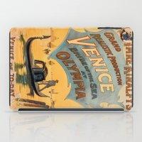 Vintage Theatrical Poste… iPad Case