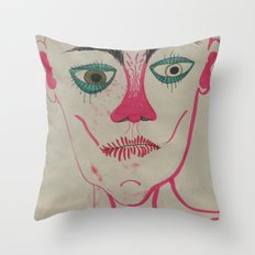 Monsieur Throw Pillow
