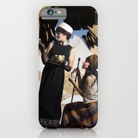 iPhone & iPod Case featuring The Feather of Finest the Falcon by Linda Flores