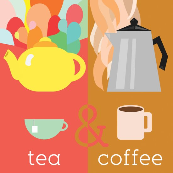 Tea&Coffee Art Print