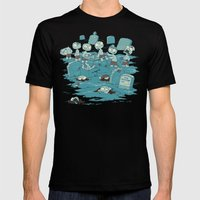 The Body Shop Mens Fitted Tee Black SMALL