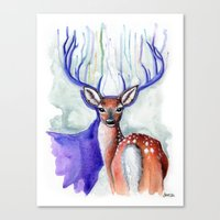Trust Me, My Deer Canvas Print
