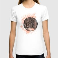 Wall of forest Womens Fitted Tee White SMALL