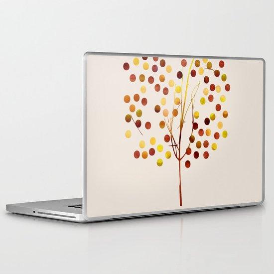 Tree of Life Amber by Jacqueline Maldonado & Garima Dhawan Laptop & iPad Skin