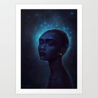 Song of the stars Art Print