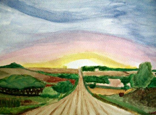 In the Fields... Art Print