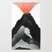 Man & Nature - The Vulca… Rug