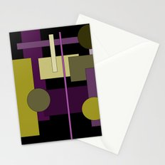 Abstract Geometric #1 Stationery Cards