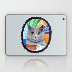 KITTY / GREY Laptop & iPad Skin