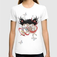 Doll Sunkissed Bipolar L… Womens Fitted Tee White SMALL