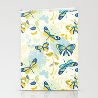 Butterflies In The Garde… Stationery Cards