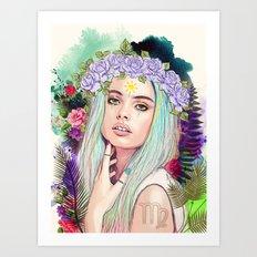Virgo Art Print