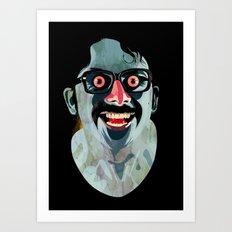 Portrait of Alonso Quijada Art Print