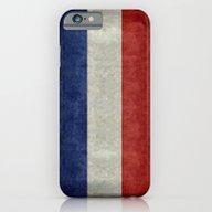 Flag Of France, Vintage … iPhone 6 Slim Case