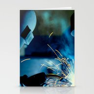 The Welder Stationery Cards