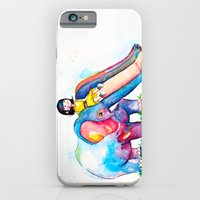 iPhone & iPod Case featuring Elephant Slide by Elaine Ramos