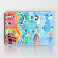 Beach Scene  Laptop & iPad Skin