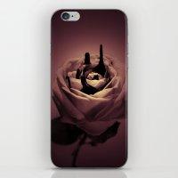 Crying rose iPhone & iPod Skin
