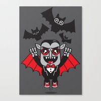Evil Powers Of Pumped Up… Canvas Print
