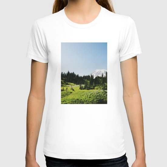 Mt Rainier Shooter T-shirt