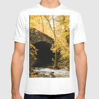 Stone Bridge Mens Fitted Tee White SMALL