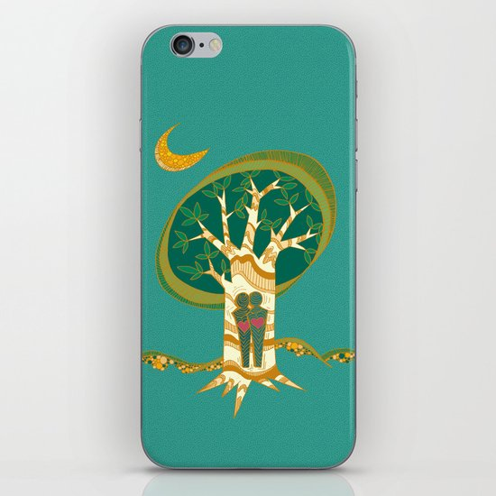 Carve Our Love iPhone & iPod Skin