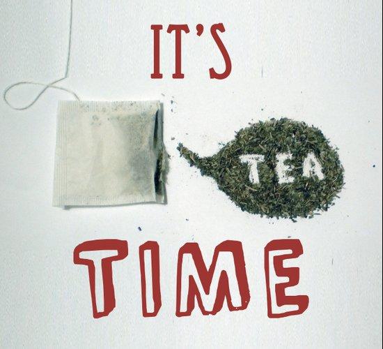 It's Tea Time Canvas Print