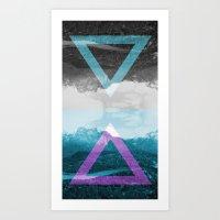 REFLECT Art Print