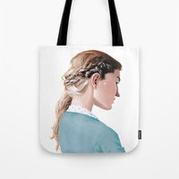 Blond Girl Tote Bag