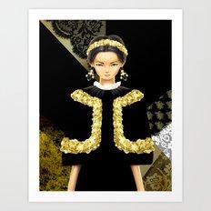 Dolce & Gabbana FW12 Art Print