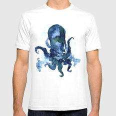 Oceanic Octo Mens Fitted Tee White SMALL
