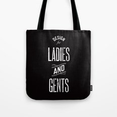 Design For Ladies And Ge… Tote Bag
