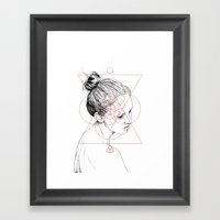 Face Facts II Framed Art Print