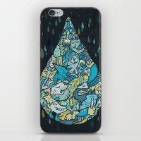 If heaven were a drop of rain iPhone & iPod Skin
