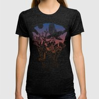 Joshua Tree Womens Fitted Tee Tri-Black SMALL