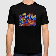 Plant Stem Microscopy; Phloem and Xylem Mens Fitted Tee SMALL Black