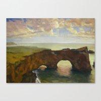 Double Arch Canvas Print