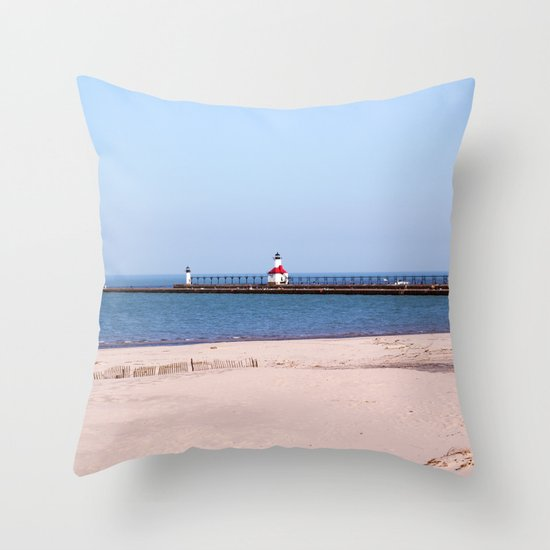 Pierview Throw Pillow