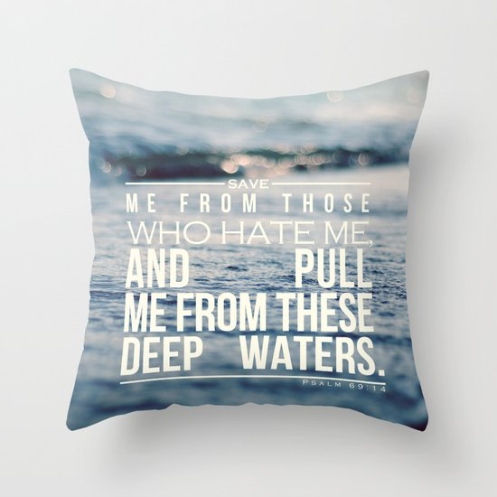 Save me Throw Pillow
