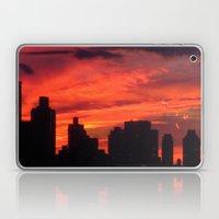 City Sunset Laptop & iPad Skin