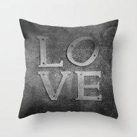 Love always Throw Pillow