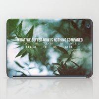 Romans 8:18 iPad Case
