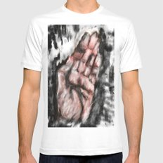 My story  White Mens Fitted Tee SMALL