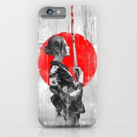 Samurai Girl iPhone 6 Slim Case
