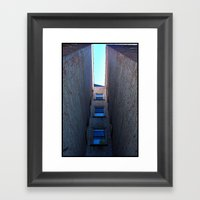 Coming Home Through The … Framed Art Print