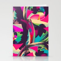 Free Abstract Stationery Cards