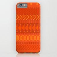 iPhone & iPod Case featuring Lava - tribal geometrics by penina