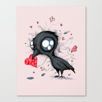 Baby Crow  Canvas Print